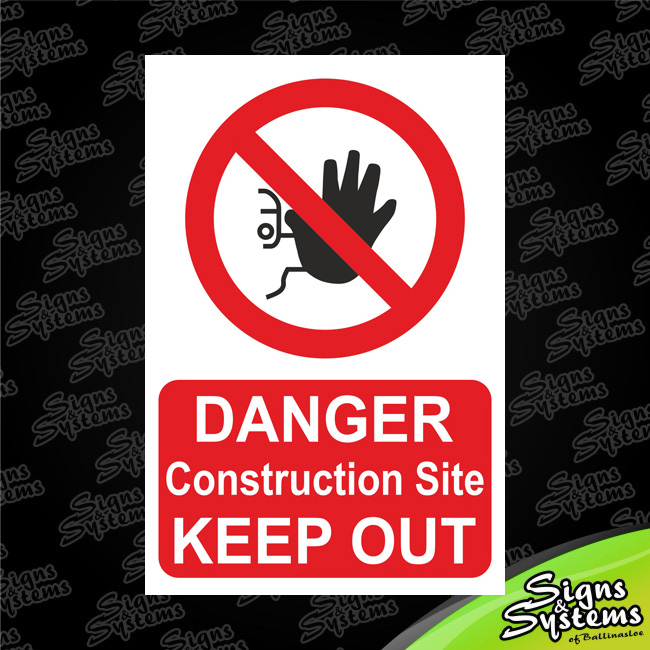 Construction Signs/Danger Construction