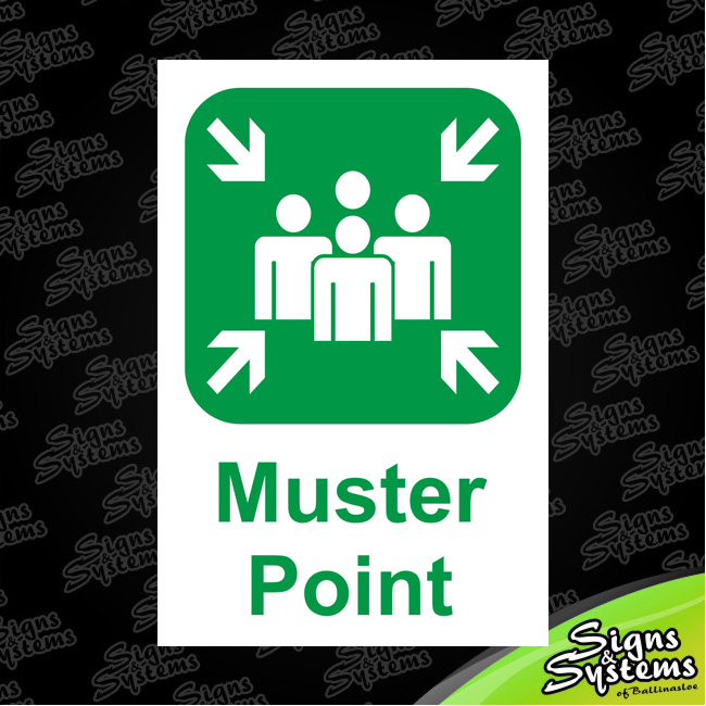 Construction Signs/Muster Point