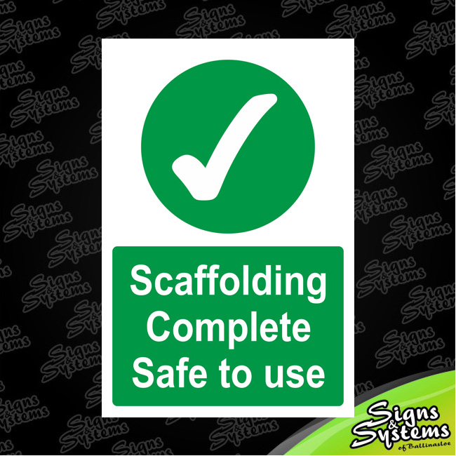 Construction Signs/Scaffolding Complee