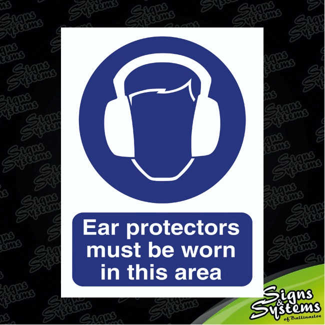 Workshop Signs/Ear Protection