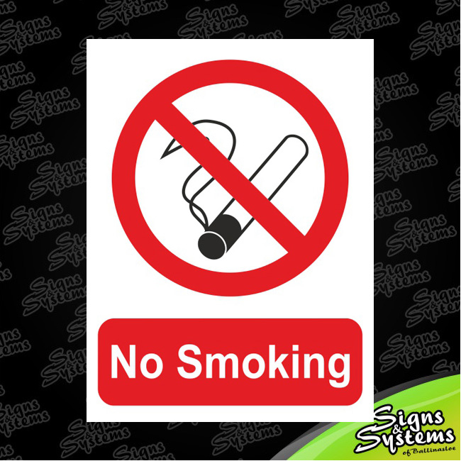 Workshop Signs/No Smoking