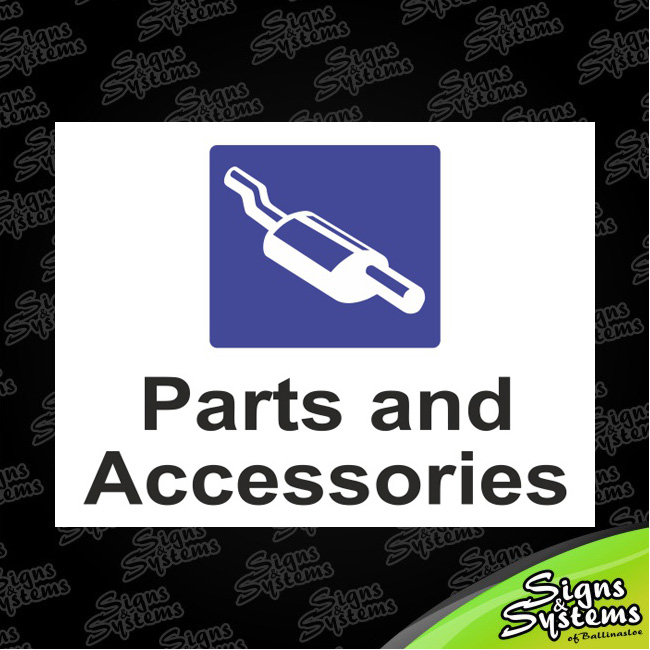 Workshop Signs/Parts & Acc
