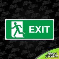 Workshop Signs/Exit Left