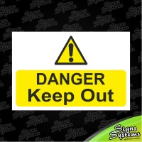 Construction Signs/Danger Keep Out