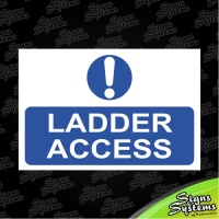 Construction Signs/Ladder Access