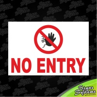 Construction Signs/No Entry