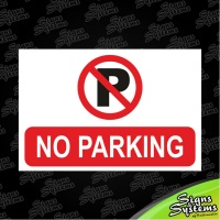 Construction Signs/No Parking
