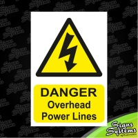 Construction Signs/Overhead Powerlines