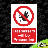 Construction Signs/Trespassers