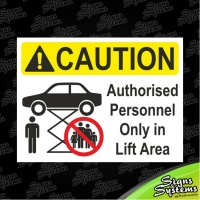 Workshop Signs/Lift Area