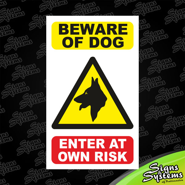 Beware of Dog: Enter