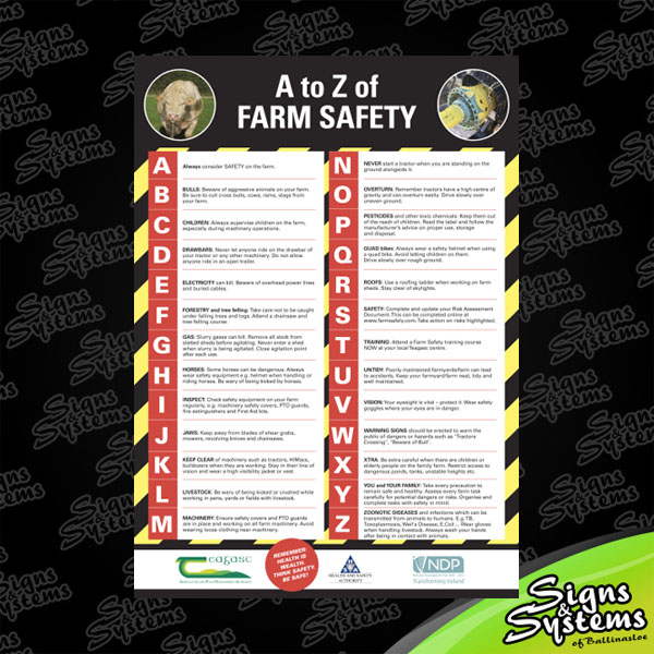 Farm Safety A-Z
